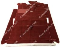 Citroen D Special LHD 1956 to 1975 Carpet Set - Wessex Wool Range